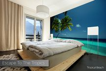 Tropical Wall Murals / Beautiful Beach Scenes from Around the World...