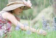 Dzieci w ogrodzie