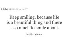 Marilyn Monroe / I adore her / by LynnDee