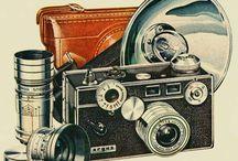 aparat fotograficzny gramofon