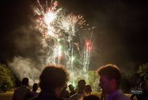 Fireworks at our festival weddings / Festival wedding fireworks. For more information please visit www.weddingfestivalcompany.co.uk