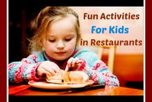 Activities For The Young Ones