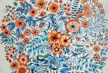 secret garden johanna basford coloring