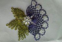 Oya or Turkish embroidery, Armenian needle lace