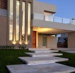 Escadas jardins fachadas