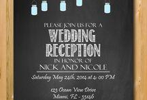 Wedding Invitations / H&S Wedding Invites