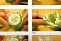 dekoracje warzyw, owocow i ciast