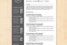 Resume's & Cv's