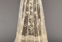 1900's silks and laces