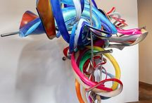 Wacky 3D colourful sculpture