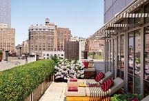 Penthouse terrace athens