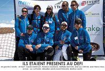 Investir pour les espoirs français du ski français / Le 26 avril, à Arc 2000, s'est tenu le Défi Terrésens 2014 : Un sommet pour une team : des anciens champions olympiques ont monté la piste Robert Blanc en skis de randonnée pour récolter des fonds pour la formation des jeunes : pour chaque mètre parcouru, un euro était reversé à la Fédération Française de Ski pour le Programme National Jeunes 12-15 ans.  Au total, ce sont plus de 20 000 € qui ont été reversés à la FFS.