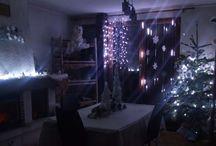 Noël Polaire / Décoration de Noël thème polaire blanc et bleu