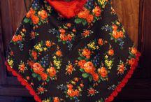 Naaien voor de meisjes / Poncho's, jurkjes