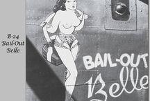 bomber pin up