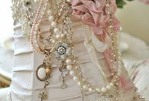 Romantic style / Lace, feminine, soft, pretty, pink, floral, shabby,  / by Christine Folster-Mason