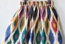 Etnic, folklore, traditional style / patrones, colores, estructuras