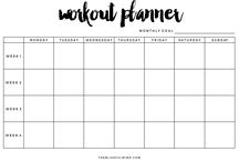 planner - fitness, workout ...