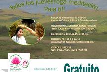 TODOS LOS #JUEVES SON DE #YOGA Y #MEDITACIÓN #GRATIS / TODOS LOS #JUEVES SON DE #YOGA #GRATIS  LLÁMANOS 637 81 97.