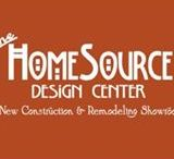 HomeSource Design Center / New Construction and Remodeling Showroom offering a variety of products: Flooring, Cabinetry, Countertops, Window Treatments and much more at 172 Charlotte Street Asheville, NC 28801.