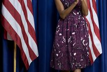 First Lady Michelle's Fashions / by iRene Thomas