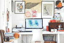 Creative Workspace and Perfect Art Studio