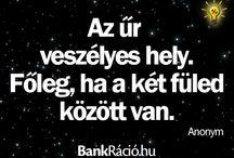 BankRáció.hu Idézetek / Általunk kedvelt idézeteket itt gyűjtjük:)
