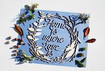 The Cut(e) / Custom Wood Decoration Event Wedding Home and Shop Decoration
