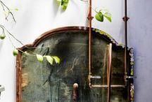 Villi kylpyhuone / Kuvia kylpyhuoneesta, jossa yhdistyy puutarha ja kylpylä