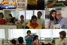 Oficinas de origami - Casa de Cultura Carlos e Diva Pinho. / Funcadi - Casa de Cultura Carlos e Diva Pinho.