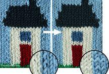 Knitting: Intarsia