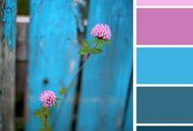 COLOR / Наилучшие цветовые сочетания при вязании, создании бижутерии и прочее