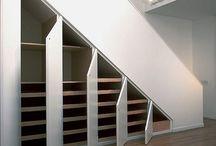 Beépített lépcső
