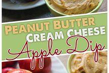 Pnut butter cream cheese dip / Dip
