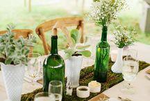 Bouteille de vin Déco Design
