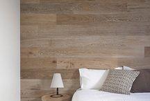 decorar paredes con madera
