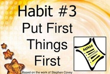 7 habits / by Hailey Kracht
