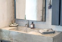Mud room powder bath