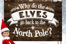 North Pole Knowledge / Do you and your little ones have questions about your Elf on the Shelf? Learn more in this board!
