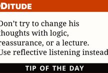 ADHD Tip of the Day / Strategies for living better with attention deficit and learning disabilities
