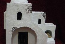 miniature buildings