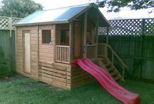 Outdoor - Cubby houses and playgyms