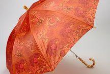 Orange Parasol / Umbrella