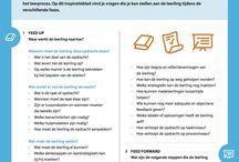 Voortgezet onderwijs / Mentor gesprekken, leerlingbespreking, feedback
