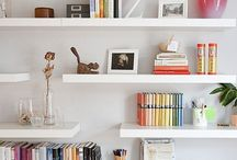 Libraries & shelves styling