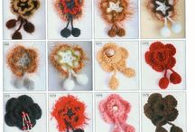 Knitted & crocheted flowers