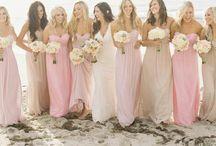 Wedding Blush Beach Ideas / by Kaitlin Kozlowski