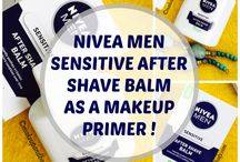 NIVEA MEN SENSITIVE AFTER SHAVE BALM AS A MAKEUP PRIMER : REVIEW