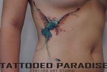 Zdobienie ciała / Poszukuję ciekawych inspiracji, ponieważ od dawna już myślę o zrobieniu tatuażu. Interesuje mnie głównie rodzaj watercolor tattoo.