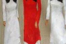 Tranh Dau; Phan Trang; Dang Can; Vu Dung; Nquyen Cong Binh Thieu; Nguyen Son / Artistas vietnamitas....